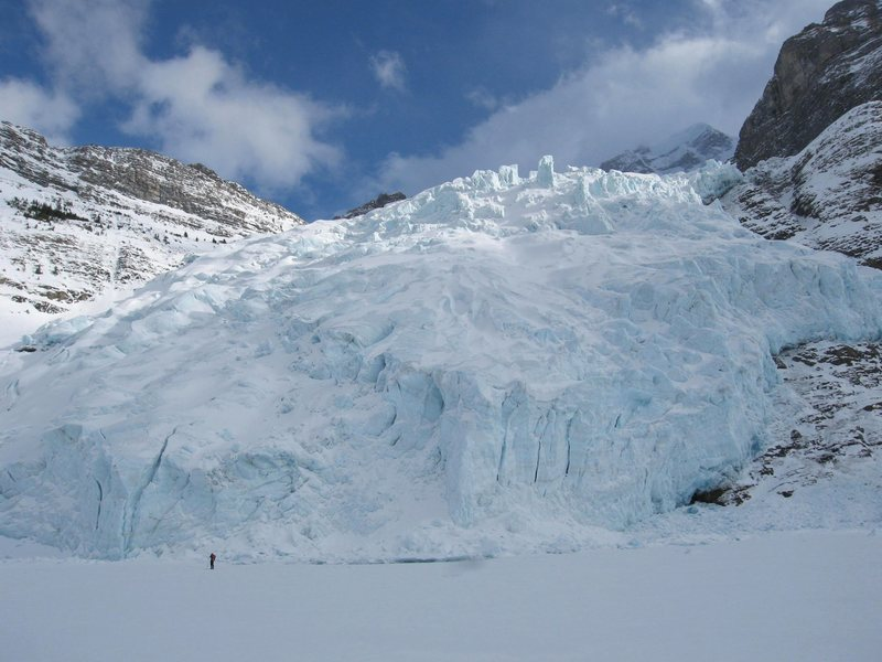 Berg Glacier and Berg Lake March 2007