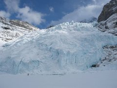 Rock Climbing Photo: Berg Glacier and Berg Lake March 2007