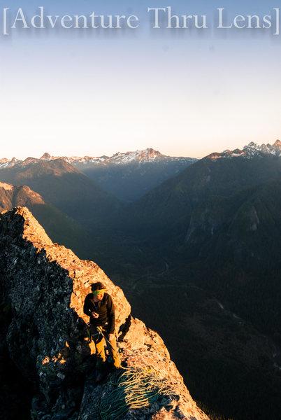 Rock Climbing Photo: Summit of Infinite Bliss  facebook.com/adventureth...