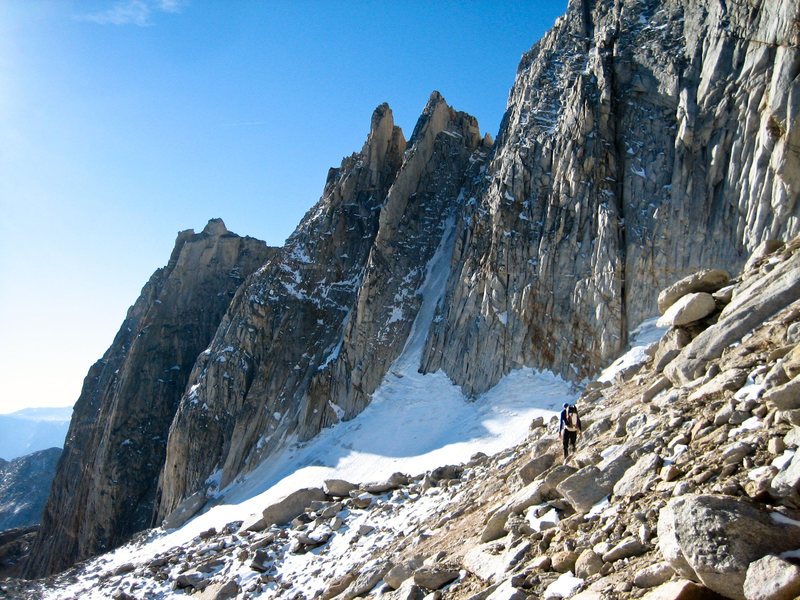 Rock Climbing Photo: Gully looking good, early October in 2013