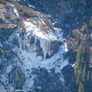 Rock Climbing Photo: Lincoln Ice from Northstar Ridge.