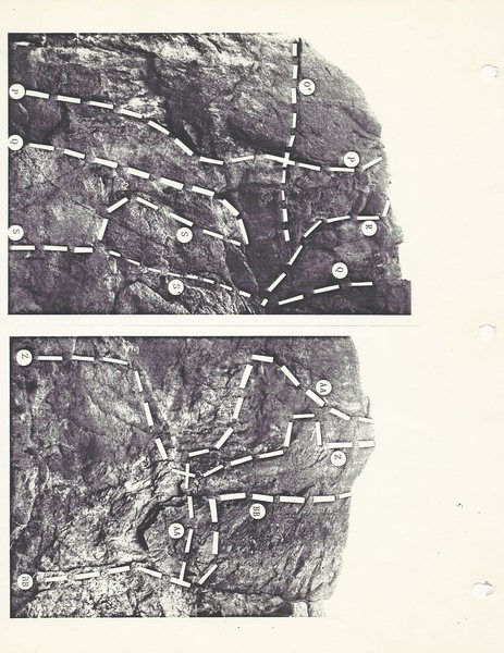 Rock Climbing Photo: Pages from the 1987 Granite Point guidebook.