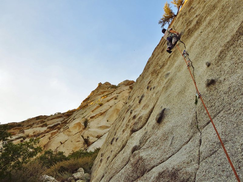 The best after work climbing you can imagine in October.