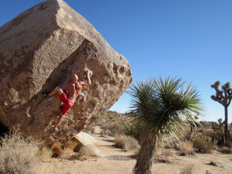 Rock Climbing Photo: Josh classic.  What a great problem.