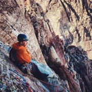 Rock Climbing Photo: Taking it in from the top of the route.  Notice th...