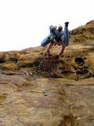 """Rock Climbing Photo: Somehow Rico misheard """"Watch me!"""" as &qu..."""