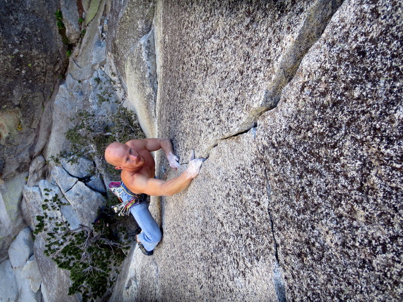 Rock Climbing Photo: Short but sweet.  Photo by Tom Michael.