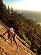 Rock Climbing Photo: first flattie