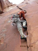 Rock Climbing Photo: Thad.. in the proper get up 2 get up..
