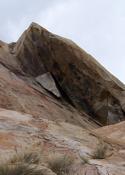 Rock Climbing Photo: Just for fun.  This route used to not exist until ...