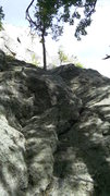 Rock Climbing Photo: Start to Powder Puff.