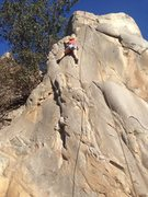 Rock Climbing Photo: mission gorge