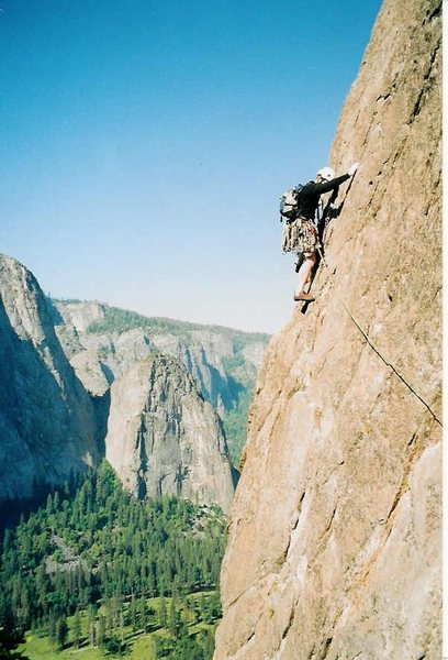 Rock Climbing Photo: East Buttress 5.10b El Cap Yosemite CA