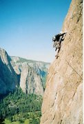 Rock Climbing Photo: East Buttress 5.10b El Cap Yosemite CA