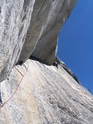 Rock Climbing Photo: Crescent Arch, Yosemite CA 5.10b