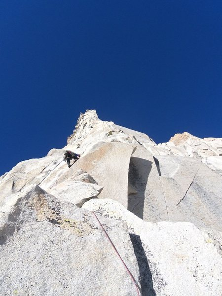 Rock Climbing Photo: Mt Dana, CA 5.10b