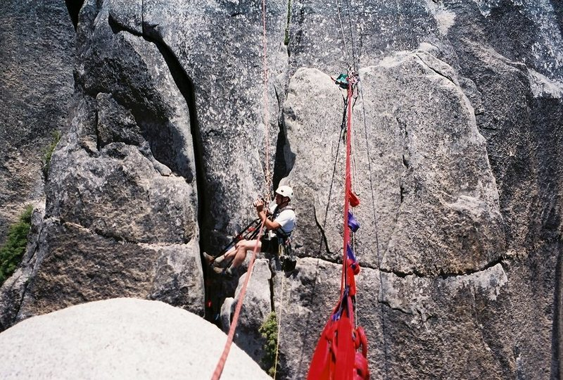 Rock Climbing Photo: Lost Arrow Spire, Yosemite CA