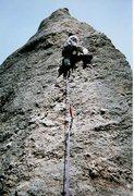 Rock Climbing Photo: The Needles SD  T-Nail