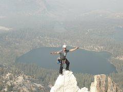 Rock Climbing Photo: Crystal Crag, CA