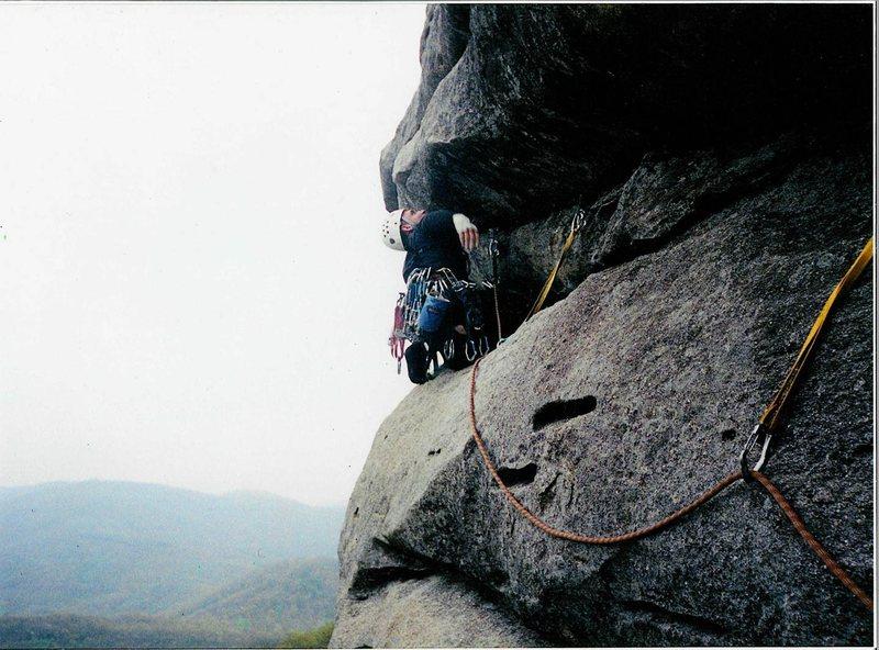 Rock Climbing Photo: Having Fun on T&B
