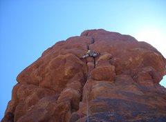 Rock Climbing Photo: Faving Fun on Owl Rock