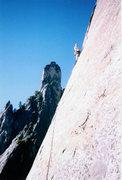 Rock Climbing Photo: Having Fun on East Buttress