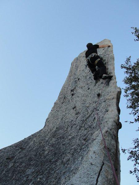 Rock Climbing Photo: Having Fun at Phantom Spires