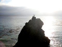 Rock Climbing Photo: Having fun at Big Sur CA