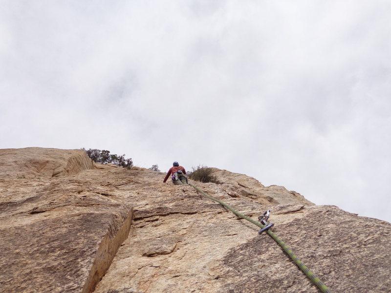 Rock Climbing Photo: p 2 east butt 2013