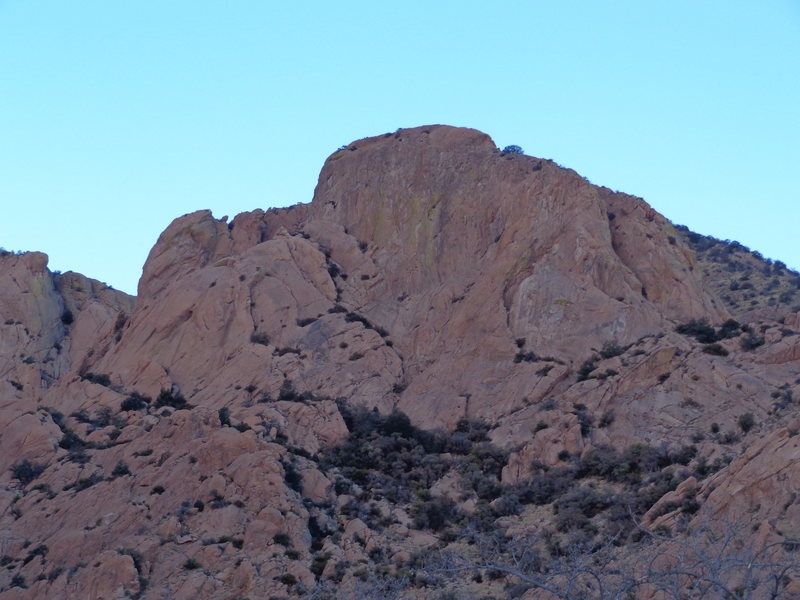Rock Climbing Photo: Entrance Dome
