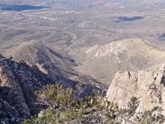 Rock Climbing Photo: Solitude, from Kimble