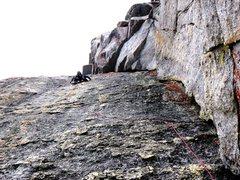 Rock Climbing Photo: Having Fun on Hobbit Book