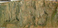 Rock Climbing Photo: Barker Daniel Wall  Loose Rock? Where?
