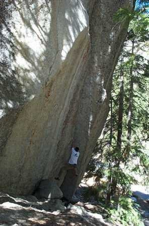 Rock Climbing Photo: OW in campground