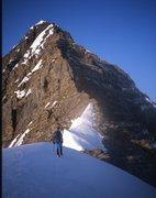 Rock Climbing Photo: Bryce NER below grey band