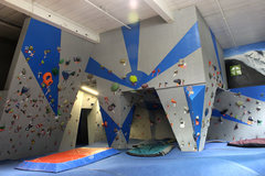 Rock Climbing Photo: fun new paint job in our bouldering cave :)