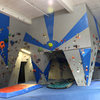 fun new paint job in our bouldering cave :)
