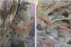 Rock Climbing Photo: line