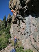 Rock Climbing Photo: Starting Flamethrower, awesomeness!