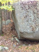 Rock Climbing Photo: Cool looking problem on left side. This is the pro...