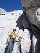 Rock Climbing Photo: Pingora Left Side Cracks - Wind River Range. July ...