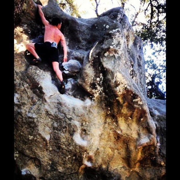 Rock Climbing Photo: Castel rock