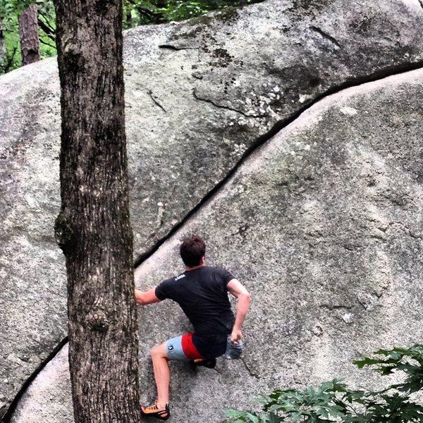 Rock Climbing Photo: Boat rock