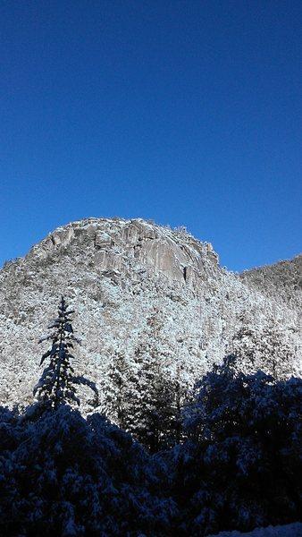 Rock Climbing Photo: All snowed up!