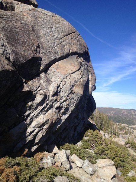 Rock Climbing Photo: The Gecko, 5.10b