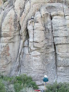 Rock Climbing Photo: Near the start of Twilight, one of the easier rout...