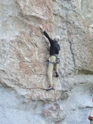 Rock Climbing Photo: Start of Nipples and Clits, a fun 5.10a route on B...