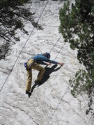 Rock Climbing Photo: Julia on the friction start to Pure Pleasure and G...