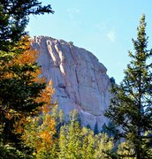 Rock Climbing Photo: This sizeable buttress looms over the Crags TH on ...