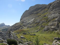 Rock Climbing Photo: Approach trail for Hexenstein, leaving from the Fo...